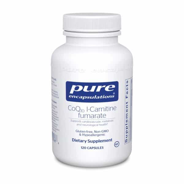 CoQ10 l-Carnitine Fumarate 120ct by Pure Encapsulations