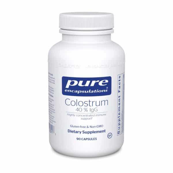 Colostrum 40% IgG 90ct by Pure Encapsulations