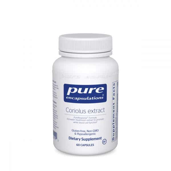 Coriolus extract 60ct by Pure Encapsulations