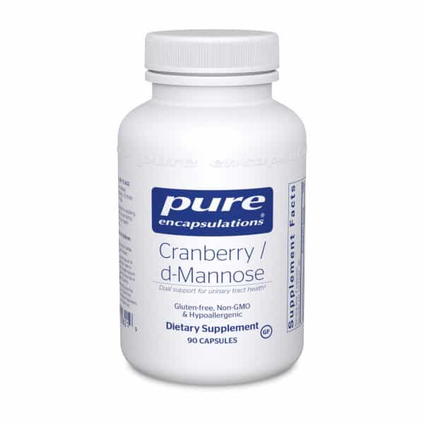 Cranberry/d-Mannose 90ct by Pure Encapsulations