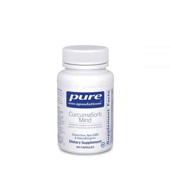 CurcumaSorb Mind 60ct by Pure Encapsulations