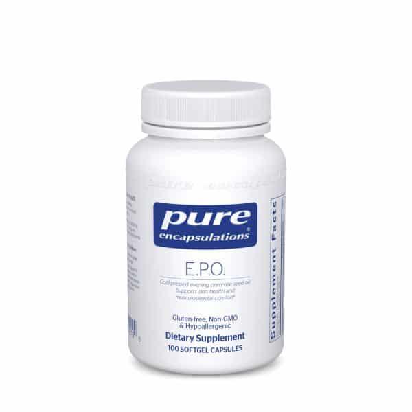 Evening primrose oil (E.P.O) 100ct by Pure Encapsulations