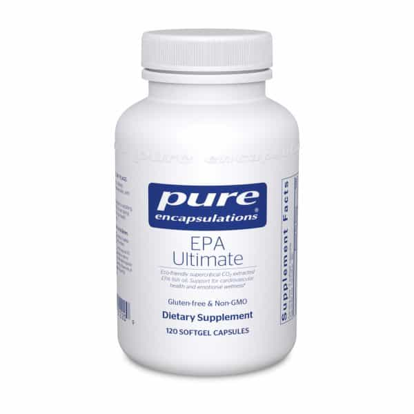 EPA Ultimate 120ct by Pure Encapsulations