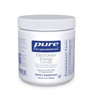 Electrolyte/Energy formula 340 g by Pure Encapsulations