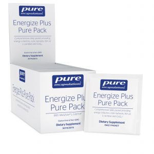 Energize Plus Pure Pack 30ct by Pure Encapsulations