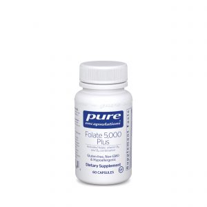 Folate 5000 Plus 60ct by Pure Encapsulations