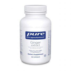 Ginger Extract 120ct by Pure Encapsulations