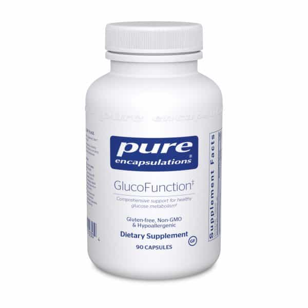 GlucoFunction 90ct by Pure Encapsulations