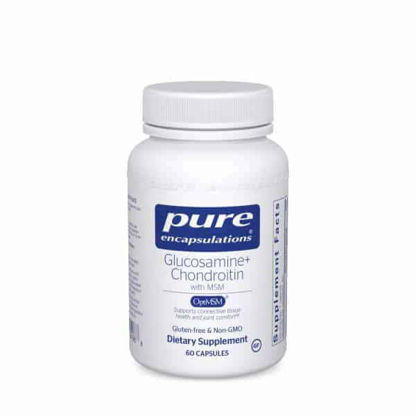 Glucosamine Chondroitin with MSM 60ct by Pure Encapsulations