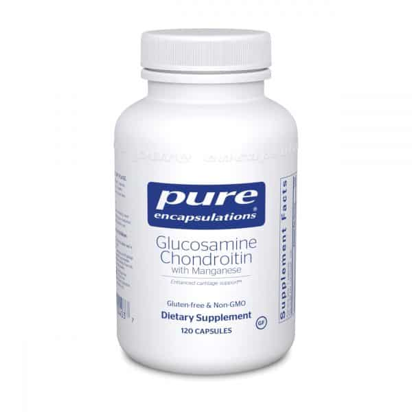 Glucosamine Chondroitin with Manganese 120ct by Pure Encapsulations