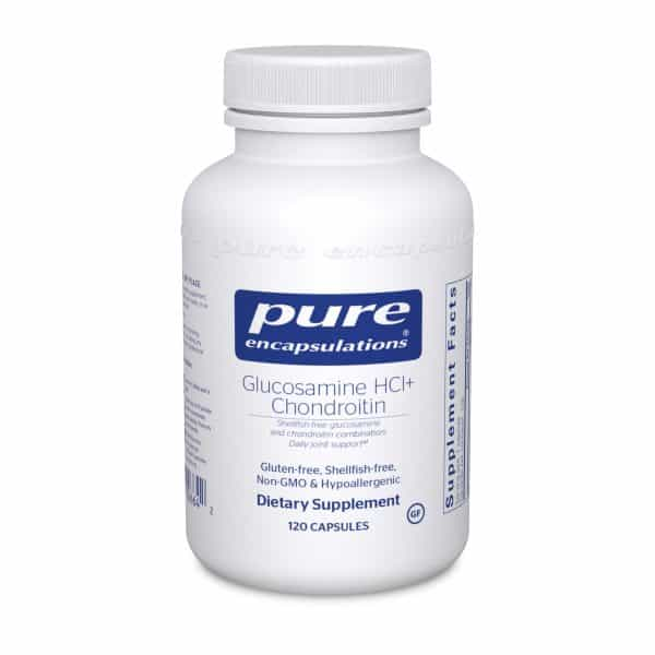 Glucosamine HCl Chondroitin 120ct by Pure Encapsulations