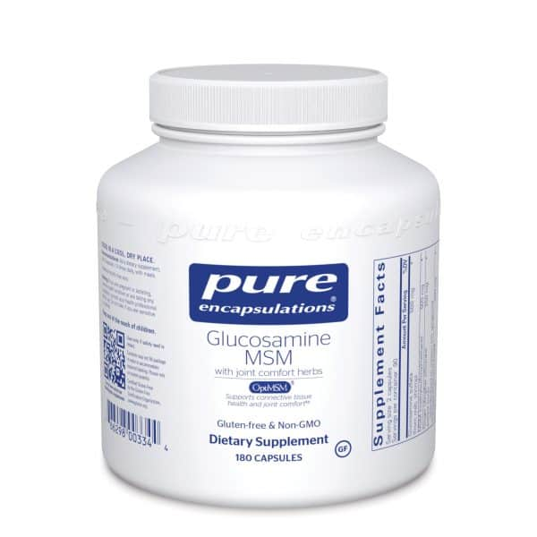 Glucosamine/MSM 180ct by Pure Encapsulations