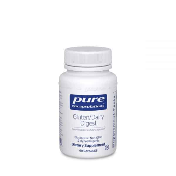 Gluten/Dairy Digest 60ct by Pure Encapsulations