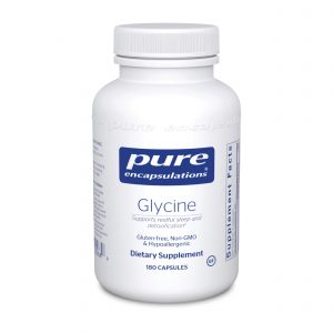 Glycine 180ct by Pure Encapsulations
