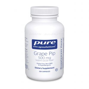Grape Pip 500 mg 120ct by Pure Encapsulations