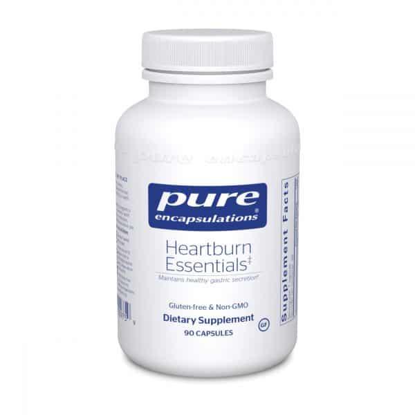 Heartburn Essentials 90ct by Pure Encapsulations