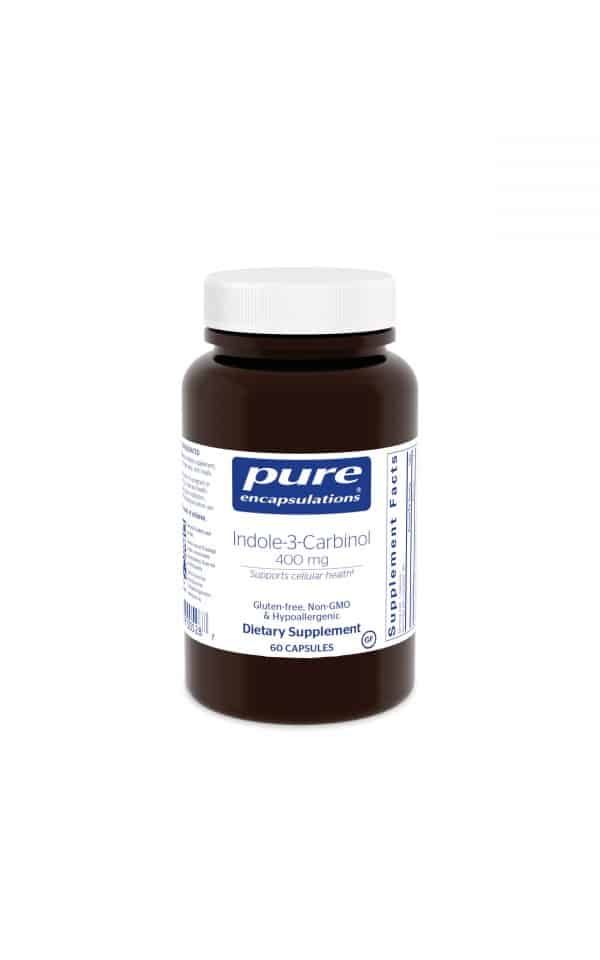 Indole-3-Carbinol 400 mg 60ct by Pure Encapsulations