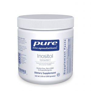 Inositol powder 250 g by Pure Encapsulations