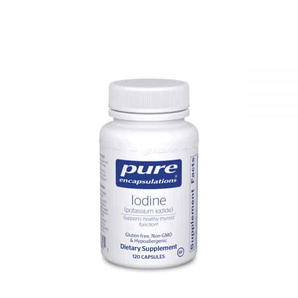 Iodine 120ct by Pure Encapsulations