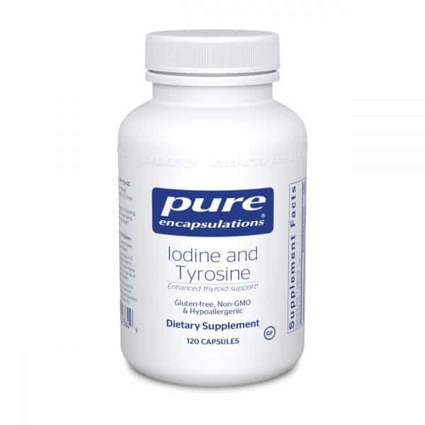 Iodine and Tyrosine 120ct by Pure Encapsulations