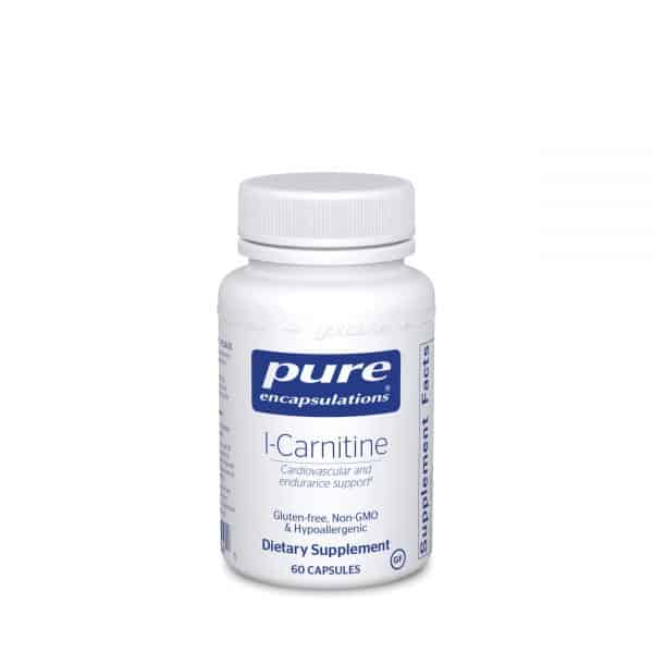 L-Carnitine 60ct by Pure Encapsulations