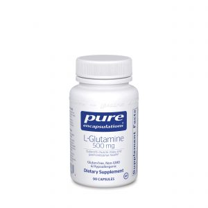 L-Glutamine 500 mg 90ct by Pure Encapsulations