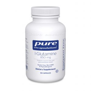 L-Glutamine 850 mg 90ct by Pure Encapsulations