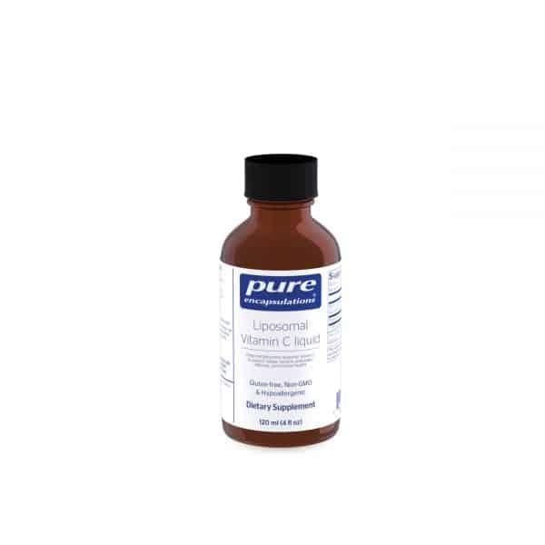 Liposomal Vitamin C liquid 120 ml by Pure Encapsulations