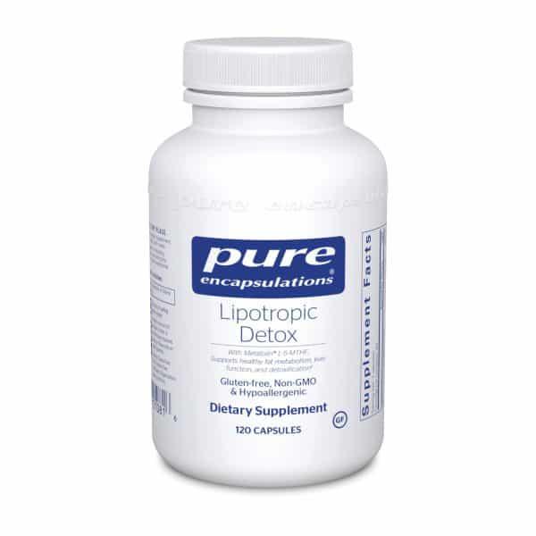 Lipotropic Detox 120ct by Pure Encapsulations