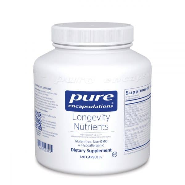Longevity Nutrients 120ct by Pure Encapsulations