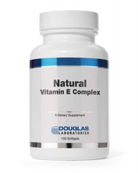 Natural Vitamin E Complex 100ct by Douglas Laboratories