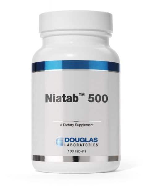 Niatab 500 100ct by Douglas Laboratories