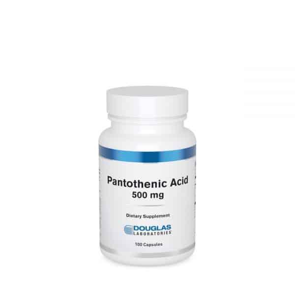 Pantothenic Acid 500 mg 100ct by Douglas Laboratories