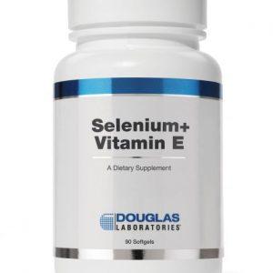 Selenium plus Vitamin E 90ct by Douglas Laboratories