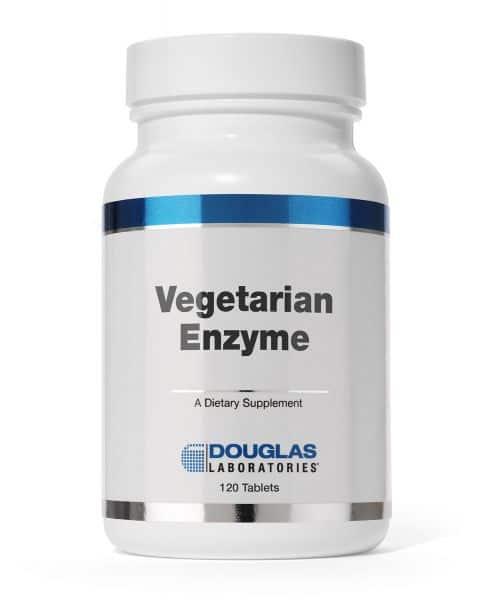 Vegetarian Enzyme 120ct by Douglas Laboratories