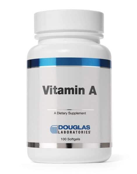Vitamin A 100ct by Douglas Laboratories