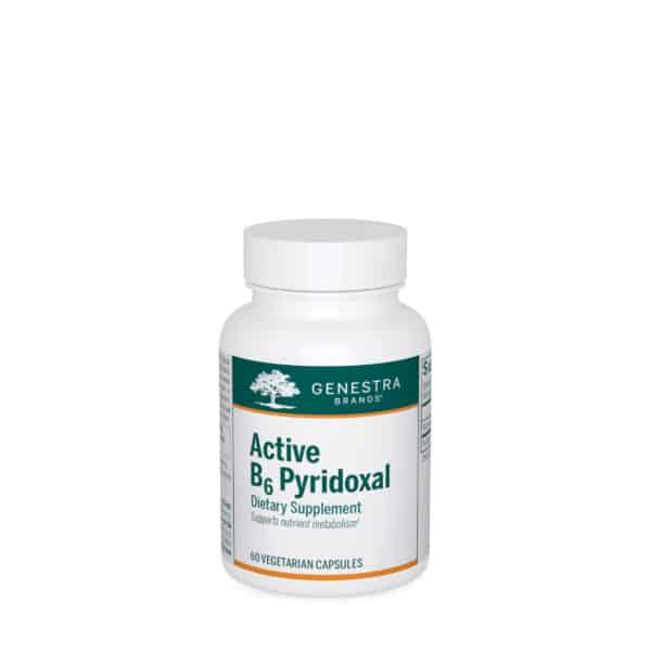 Active B6 Pyridoxal 60ct by Genestra Brands