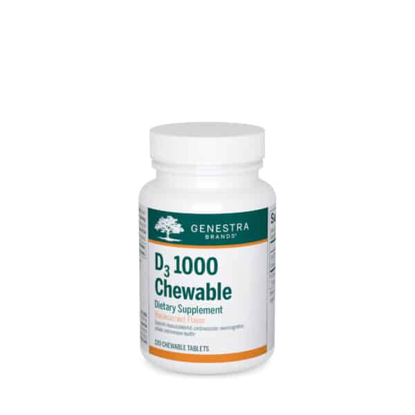D3 1000 Chewable 120ct by Genestra Brands