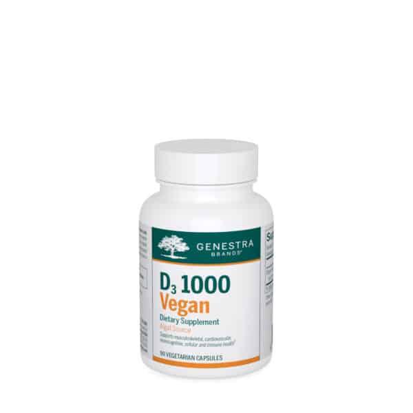 D3 1000 Vegan 90ct by Genestra Brands