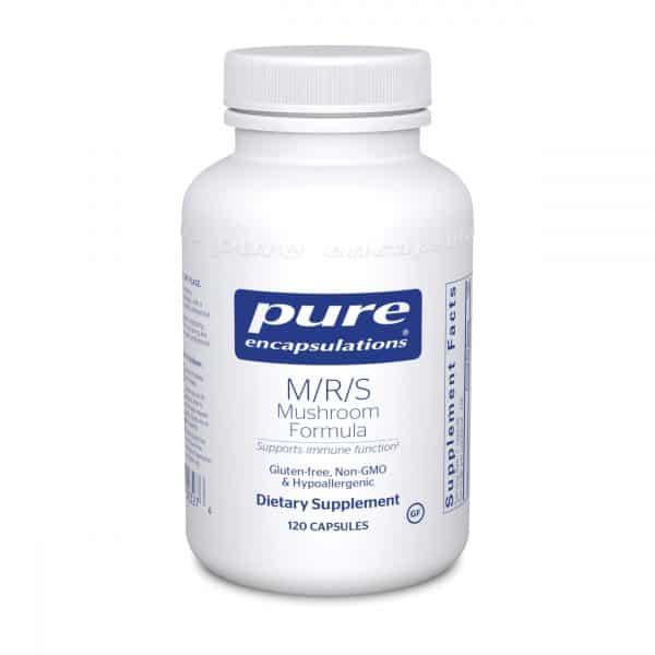 M/R/S Mushroom Formula 120ct by Pure Encapsulations