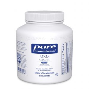 MSM 250ct by Pure Encapsulations