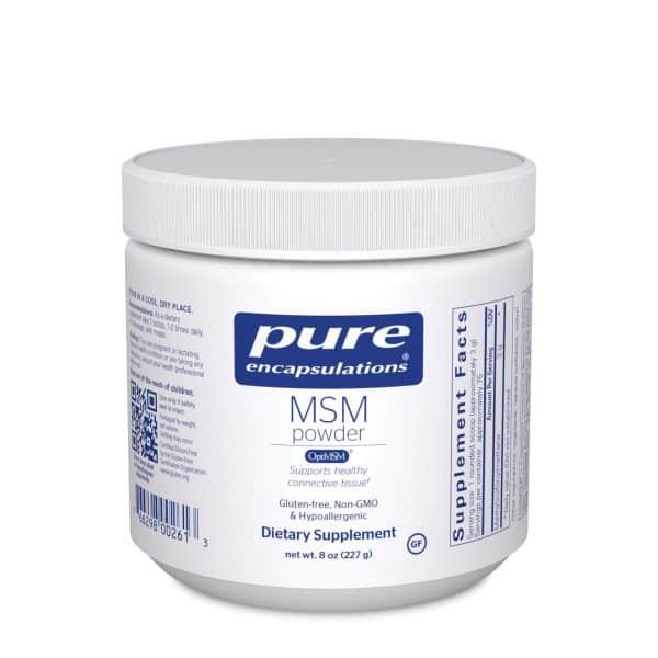 MSM powder 227 g by Pure Encapsulations