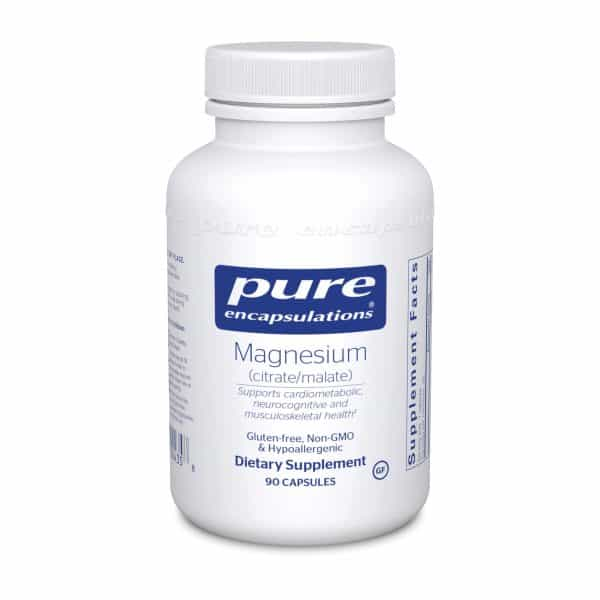 Magnesium citrate/malate 90ct by Pure Encapsulations