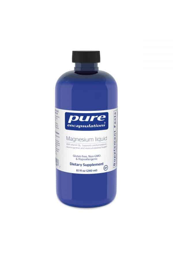 Magnesium liquid 240 ml by Pure Encapsulations