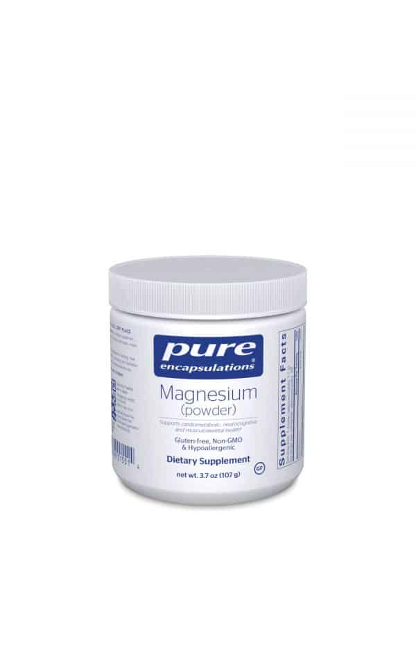 Magnesium powder 107 g by Pure Encapsulations