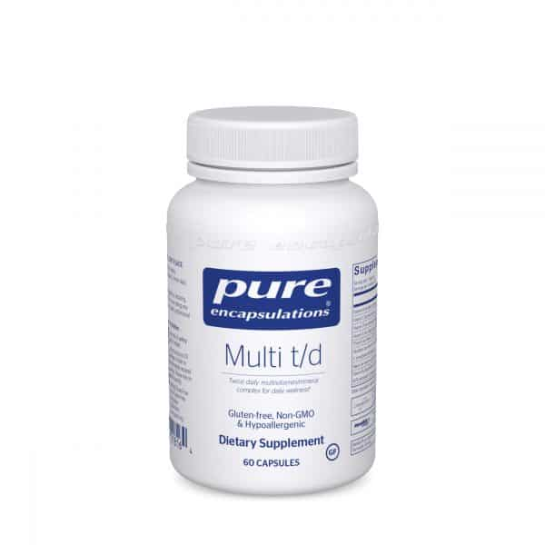 Multi t/d 60ct by Pure Encapsulations