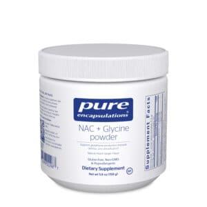 NAC + Glycine powder 159 g by Pure Encapsulations