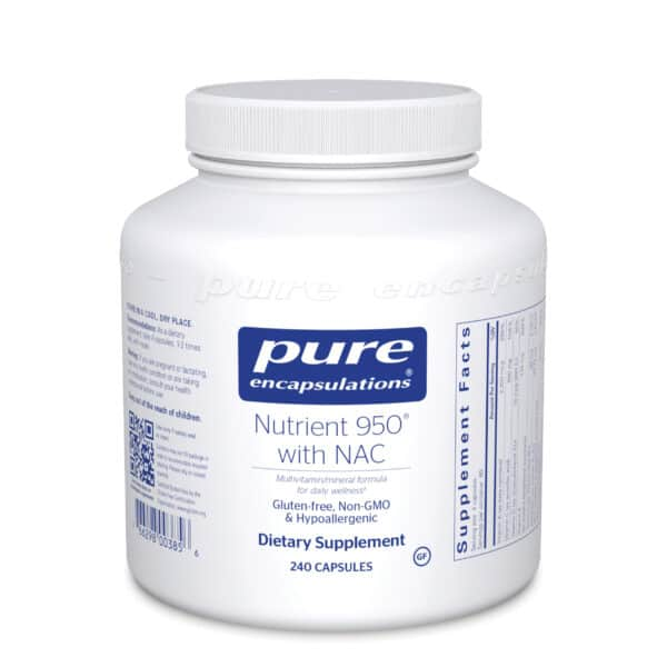 Nutrient 950 with NAC 240ct by Pure Encapsulations