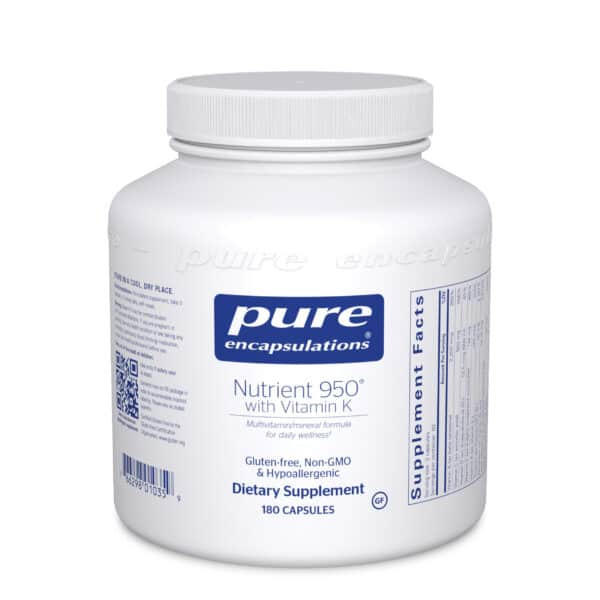 Nutrient 950 with Vitamin K 180ct by Pure Encapsulations