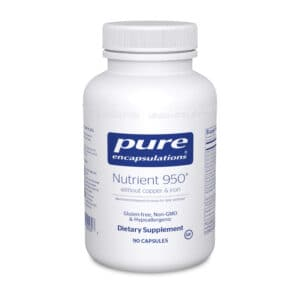 Nutrient 950 without Copper and Iron 90ct by Pure Encapsulations